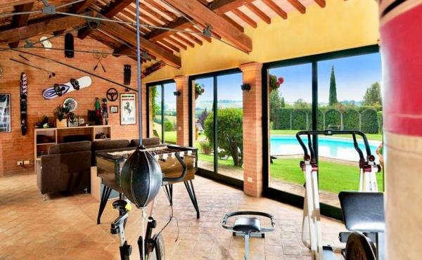 Дом в Тоскане, Италия 23